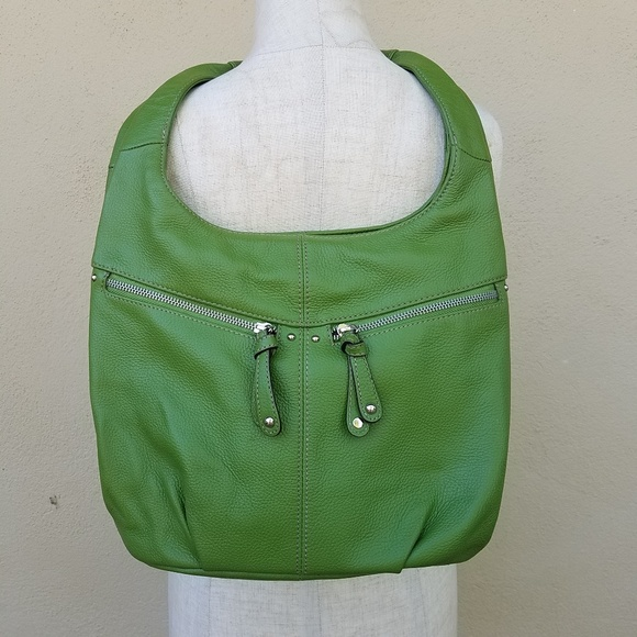 Tignanello Handbags - Green tignanello purse
